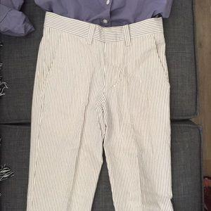 Chambray American Apparel Pinstripe Pant. Sz 25